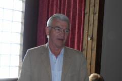 Begrüßung Hans Blinzler, Vorsitzender Kronacher SK